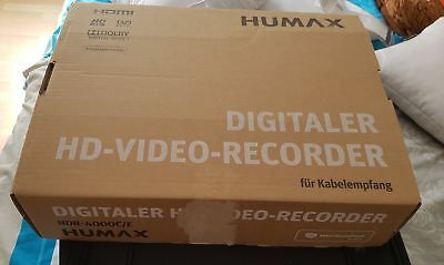 Digitaler HD Video Kabel Recorder von Humax HDR 4000C/E
