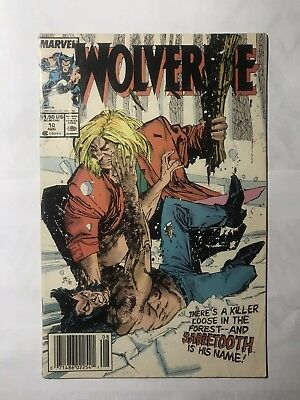Wolverine #10 1988 Sabretooth Appearance  Buscema Williams