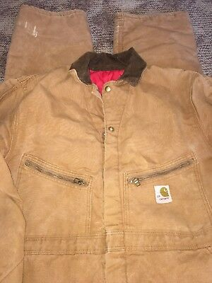 Carhartt Size Large Brown Coveralls