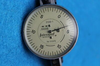 "Interapid Dial Indicator .0005"" 312B-1"