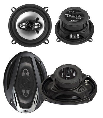 Kicker 900w 6 X 9 Cs Series 3 Way Coaxial Car Stereo Speakers