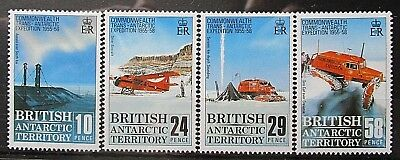 British Antarctic Territory 1988 30th Anniv of Expedition Set. MNH.