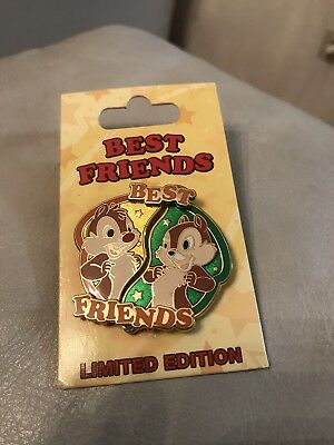 Disney Trading Pin Best Friends Collection Chip And Dale