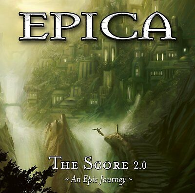 Epica - The Score 2,0 - An Epic Journey (2Cd)  2 Cd New+