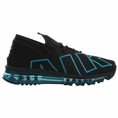 a420c3303ac Nike Air Max Flair Mens 942236-010 Black Neo Turquoise Running Shoes Size 9