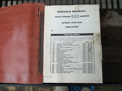 1959/60s John Deere Manual Tractor Crawler Engine Carburetor 440 92 145 217 ++++