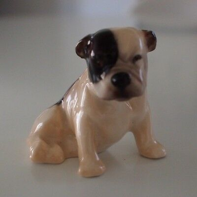 "Royal Doulton Mini Dog Figurine K 2V English Bulldog - 1.7/8"" tall very rare"