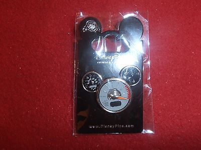 1 Disney Pin 3D Spinning Tachometer  Mickey Icon    As Seen Lot 5