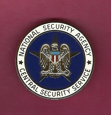 US National Security Agency full size badge US Made NSA