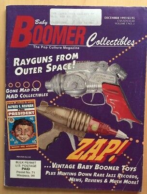 Baby Boomer Collectibles #3 Mad Magazine Rayguns