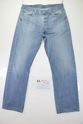 Levis 501 Stone WashCod. M1725tg50 W36 L34 jeans gebraucht hohe Taille vintage