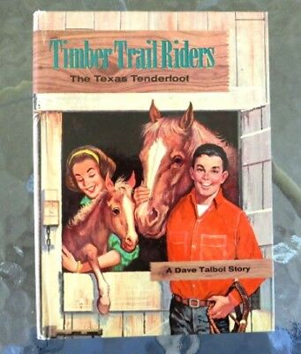 Timber Trail Riders, The Texas Tenderfoot by Michael Murray (Hardcover, 1963)