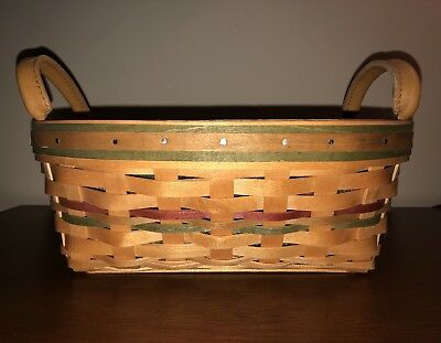 Longaberger Small Autumn Reflections Daily Blessings Basket, Liner, Protector