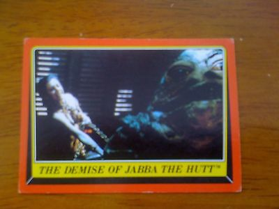 1983 VINTAGE SCANLENS - Star Wars Return Of The Jedi Trading Card Number 46