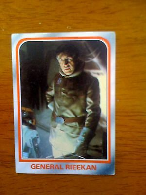 1980 VINTAGE SCANLENS - Star Wars Empire Strikes Back Trading Card Number 18