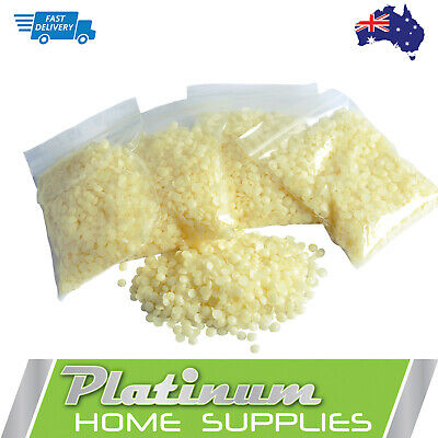 Australian Pure Organic Beeswax Beads Pellets Food Grade Cosmetic Candle Soap