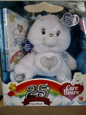 Limited Edition Care Bears 25th Anniversary Care Bear Tenderheart In Sealed Box