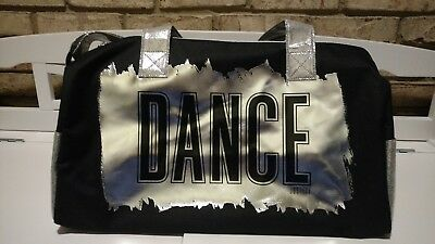 Justice Dance Bag- Black & Silver/ New with Tags!