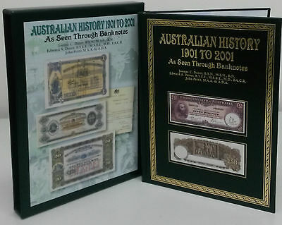 Australian History 1901-2001 As Seen Through Banknotes with Slipcase BRAND NEW
