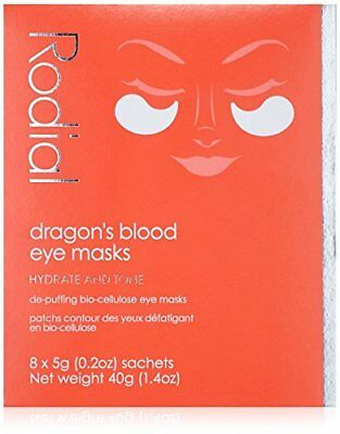 RODIAL Masque Yeux Dragon's Blood, 8 Sachets 40 g