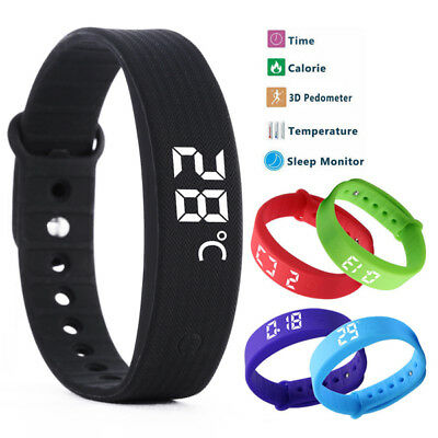 Children Activity Tracker Kids Smart Watch Pedometer Step Counter Fitness Band