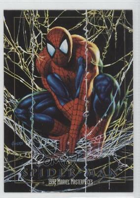 1992 SkyBox Marvel Masterpieces Promos #SPMA Spider-Man Non-Sports Card 0p3