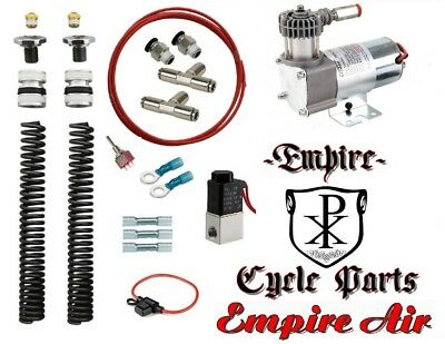 Harley Bagger Touring Front Air Ride Kit For 2000-2013