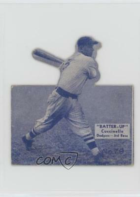 1934 1934-36 National Chicle Batter-Up R318 #79 Tony Cuccinello Brooklyn Dodgers