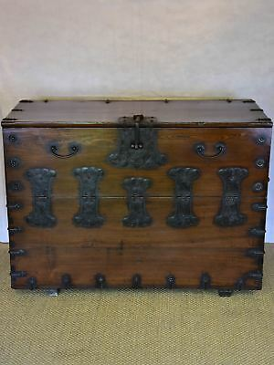 17th Century travel trunk / console