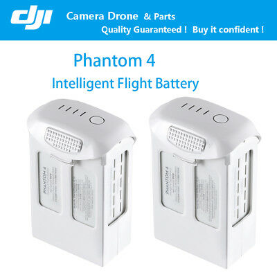 2pcs DJI Phantom 4 Pro Advanced 5870mAh Intelligent Flight Battery 30mins Time