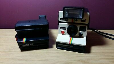 Polaroid 1000 SE with Polartronic 1 and One Step 600 Camera's