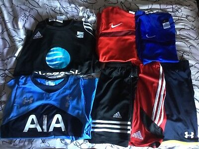 clothes bundle XL boys, mixture of Nike and Adidas, and others