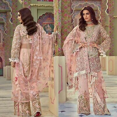 548ca669de Pakistani Dress Crimson Maria B Designer Suit Wedding Clothes shalwar Kameez
