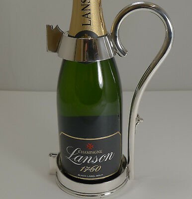 Antique English Champagne Server by Mappin and Webb