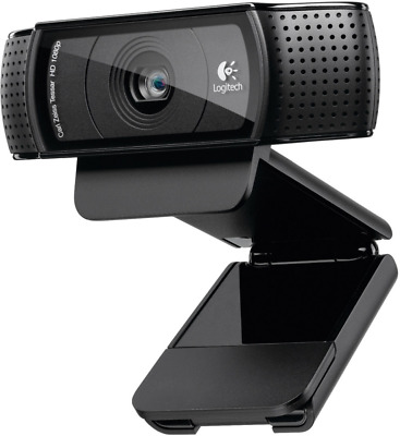 Logitech Webcam HD Pro C920 - 960-000769  (Cameras > Webcams)
