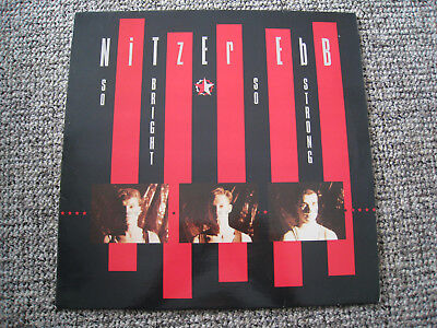 Nitzer Ebb – So Bright, So Strong LP + Front 242 + Skinny Puppy