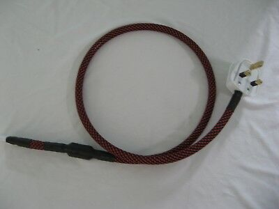 Fig 8 C7 mains power cable - Audiophile High End Hifi quality - 1M