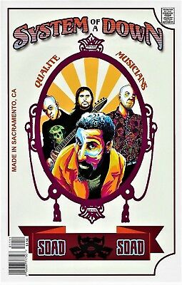 Rock and Roll Biographies #11 System of a Down!!!