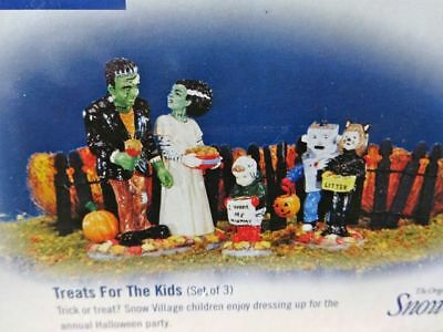 "Dept 56  Halloween "" TREATS for the KIDS  #55016  Original Box"