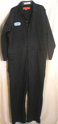 Cintas Coveralls Jumpsuit 54R Navy Blue Long Sleeve EUC