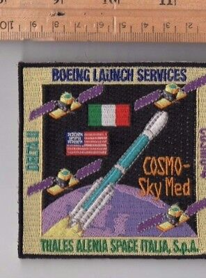 Original USAF Launched Boeing Delta II COSMOS-SkyMed Satellite Launch Patch