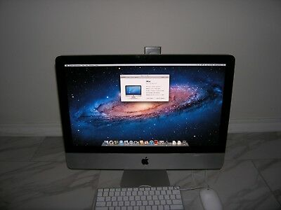 Apple iMac 21.5 inch Intel i3 3.6GHz 4GB 1333MHz DDR3 OS X 10.7 LION