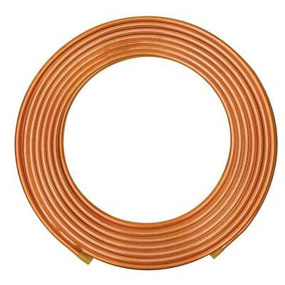 Everbilt 3/8 in. O.D. x 20 ft. Copper Soft Refrigeration Coil Pipe Copper Pipe