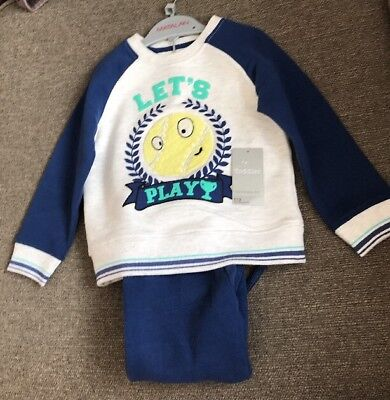 Boys 12-18 Months Lets Play Track Suit Bnwt