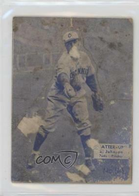 1934 1934-36 National Chicle Batter-Up R318 #54 Si Johnson Cincinnati Reds Card