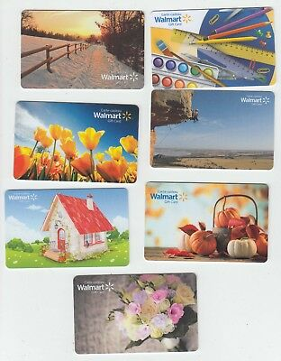 21 diff Walmart Canada gift cards bilingual NO VALUE collectors only