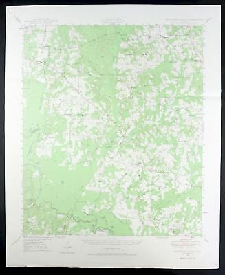 1949 Tennessee Colony Texas Palestine USGS Army Corp of Engineers Topo Map