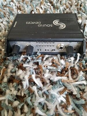 Sound devices MP-2 Microphone Pre-amp BATTERY POWERED