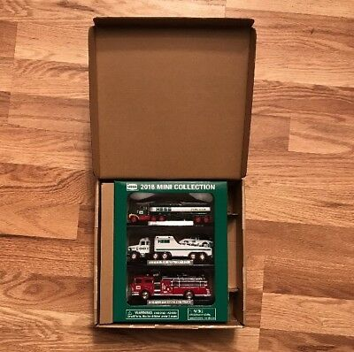 2018 Hess Mini Collection of 3 Toy Trucks New In Box Limited Edition Sold Out