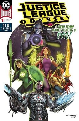 Justice League Odyssey #1 DC Universe Comics NM Main Cover A